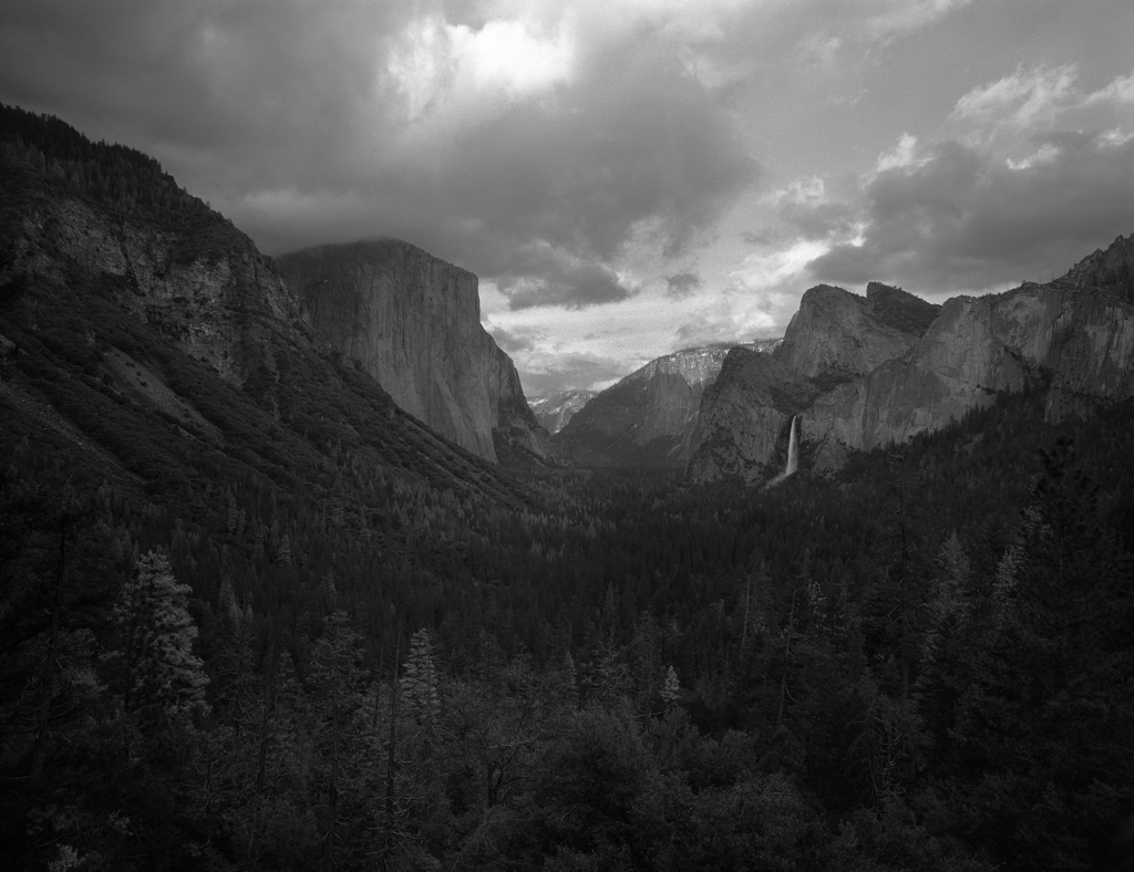 Tunnel View Yosemite Valley